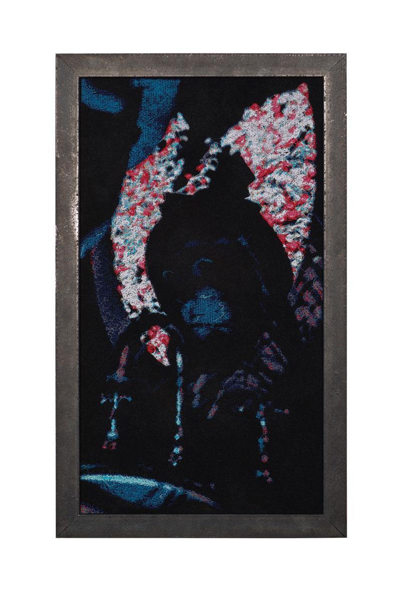 Fynn Ribbeck Kunst Art Stickerei Embroidery Der Traum des Gärtners 3