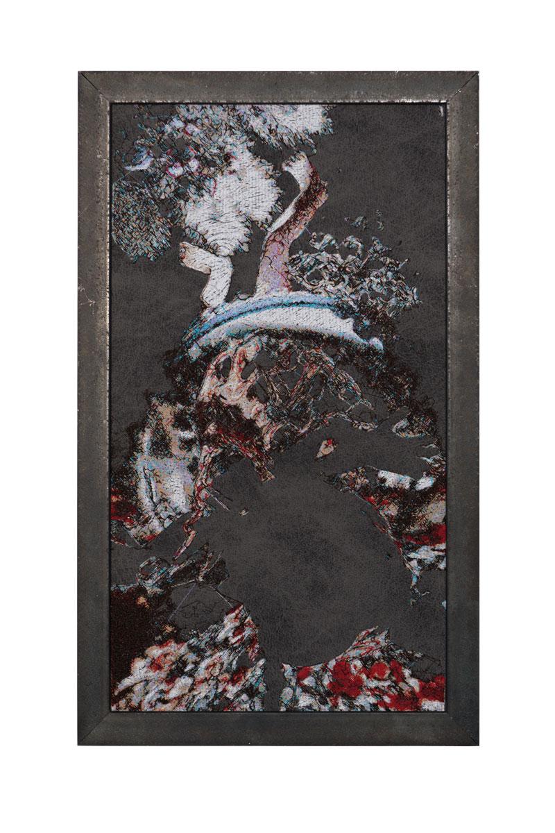 Fynn Ribbeck Kunst Art Stickerei Embroidery Der Traum des Gärtners 4