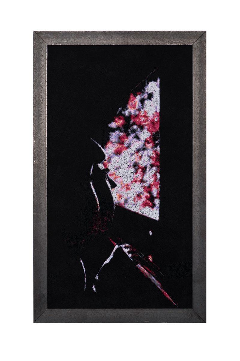 Fynn Ribbeck Kunst Art Stickerei Embroidery Der Traum des Gärtners 7