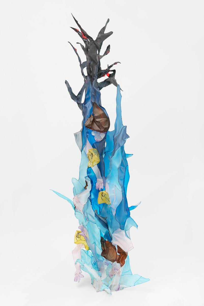Fynn Ribbeck Kunst Skulptur Einmeterbrett Art Sculpture