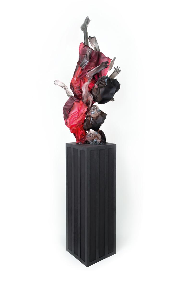 Fynn Ribbeck Kunst Art Skulptur Sculpture Fall 1