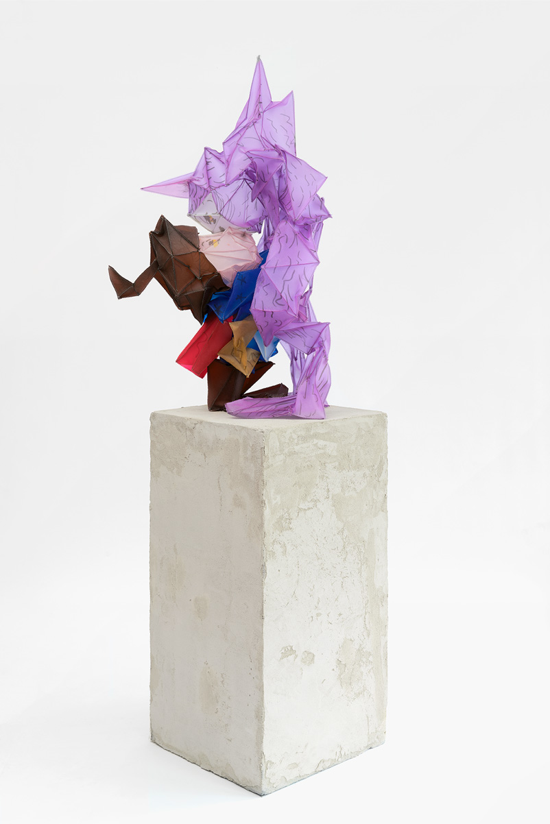 Fynn Ribbeck Kunst Skulptur Kiss64 Art Sculpture 1