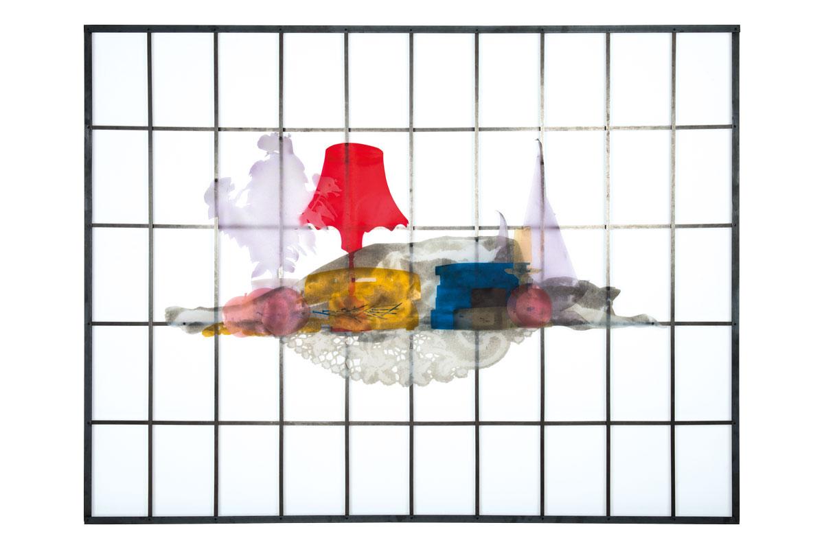 Fynn Ribbeck Kunst Art Bild Tod und TV