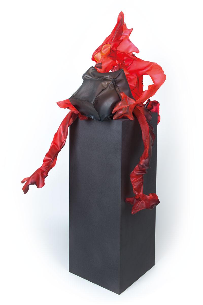 Fynn Ribbeck Kunst Art Skulptur Sculpture Wolf 1